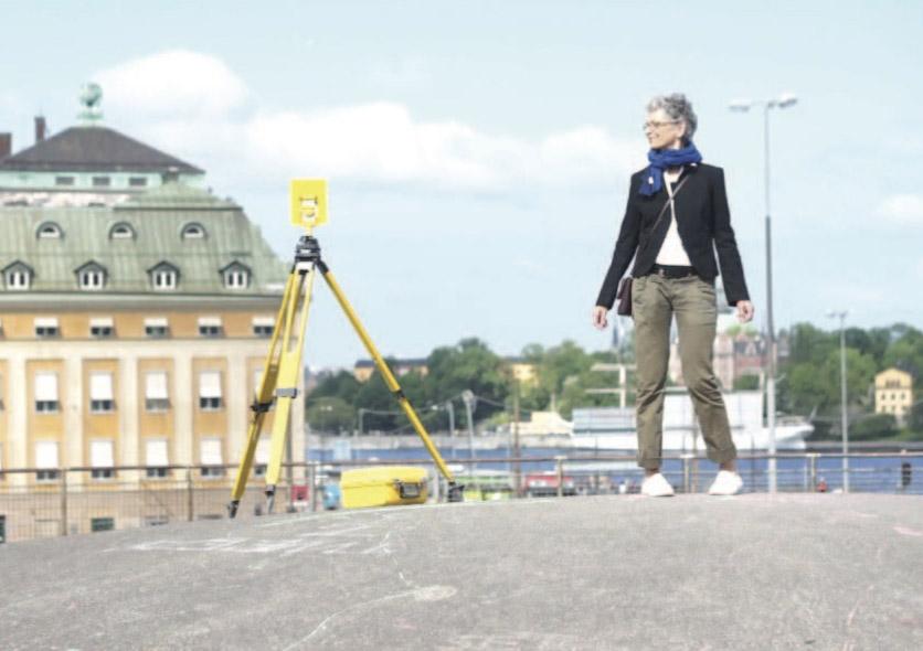 Karin Schmidt, dancer and activist.