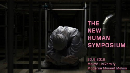 New Human Symposium header